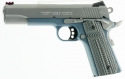 "Colt Series 70 Competition Govt Pistol 5"" .45ACP 8RND Stainless Steel With Blue Titanium Finish Frame"