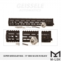 "Super Modular Rail MK4 MLOK, 13"", Black"