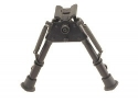 "HARRIS ENGINEERING MODEL SBRM BIPOD BR 6""-9"" HINGED W/ LEG NOTCH"
